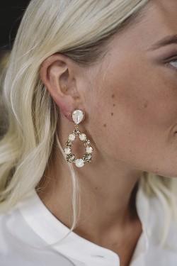 Delia Earrings Gold Light Delite/Silk