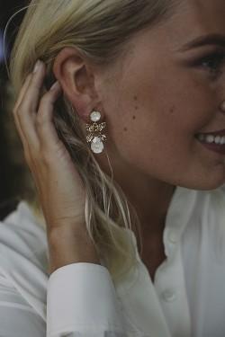 Mini Dione Earrings Gold Light Delite/Silk