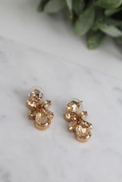 Mini Dione Earrings Golden Shadow