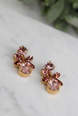 Mini Dione Earrings Vintage Rose