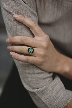 Lydia Ring Emerald