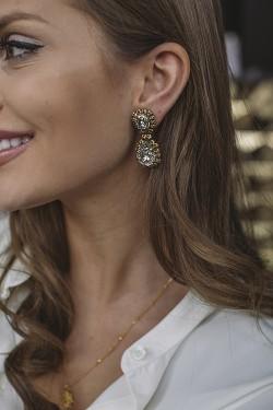 Bloomsbury Earrings Gold