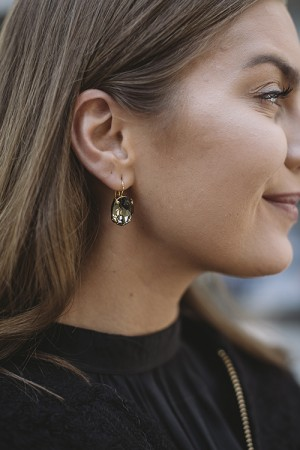 Kelly Earrings Greige