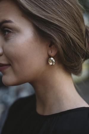 Kelly Earrings Golden Shadow