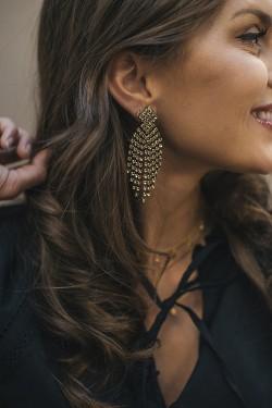 Priscilla Earrings Gold