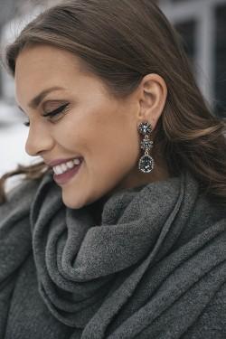 Trinity Earrings Silver