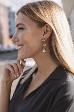 Trinity Earrings Gold