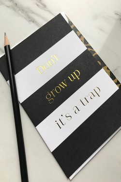Don't grow up it's a trap A6