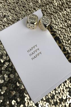 Happy Happy Happy A7 White