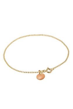 Ball Chain Bracelet Peach