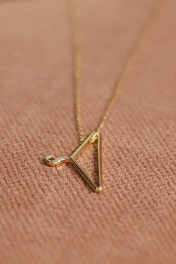Tattoo Necklace Gold