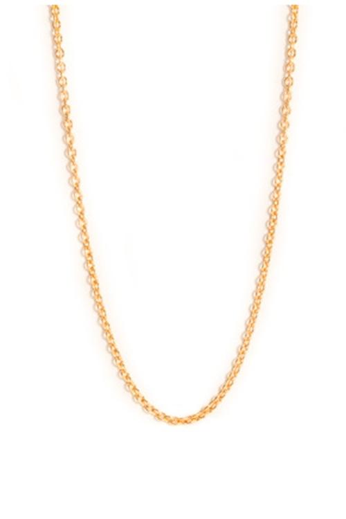 Jane Kønig Anchor Chain 42cm Gold kjede