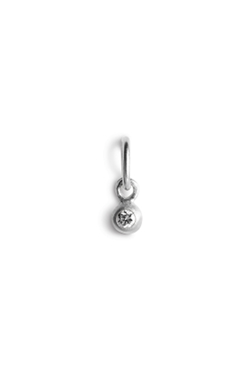 Diamond Pendant Silver