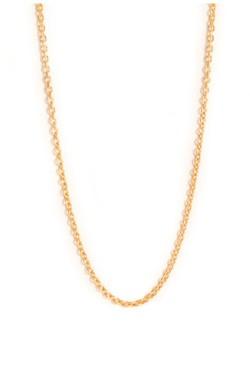 Anchor Chain 60 cm Gold