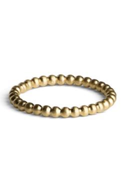 Medium Ball Ring Gold