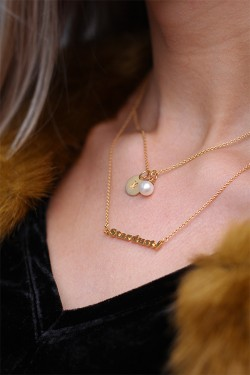 Stardust Necklace Gold