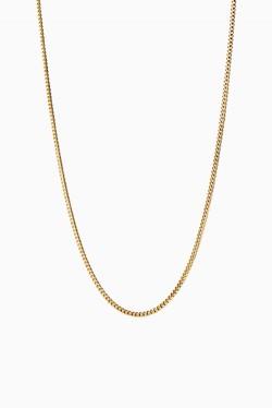 Curb Chain 40cm Gold