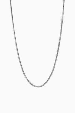 Curb Chain 40cm Silver