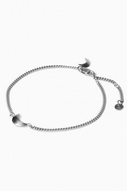 Half Moon Bracelet Silver