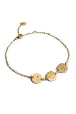 I Love You Armbånd Gold