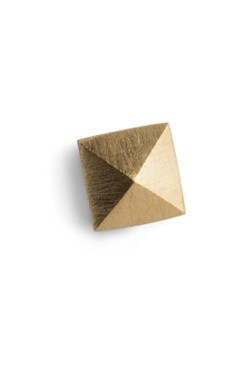 Pyramid Earring Gold