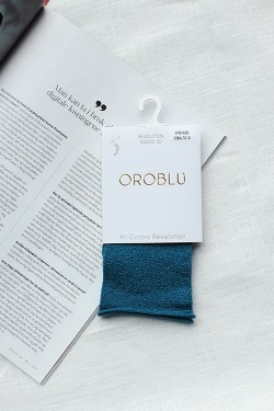 All Colours Revolution Socks 50 Cobalto