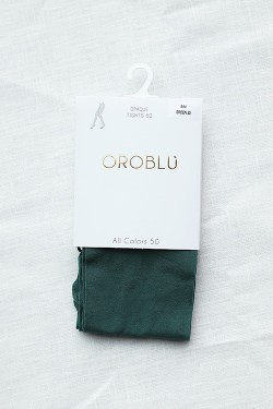 All Colours 50 Tights Green