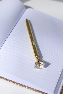 Diamantpenn Gull