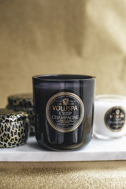 Crisp Champagne Boxed Candle 100t